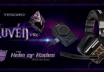 "Tesoro Releases True 5.1 Gaming Headset "" The Helm of Hades"""
