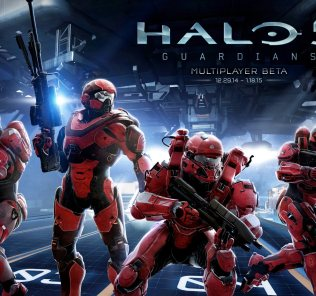 Halo 5 Guardians Beta Cover
