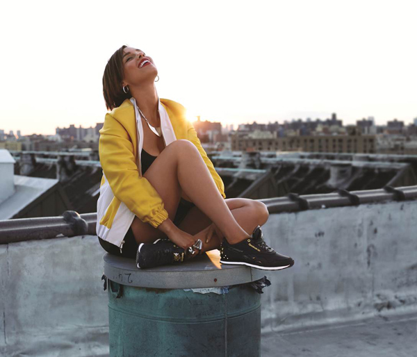 Exclusive Interview: Alicia Keys for Reebok