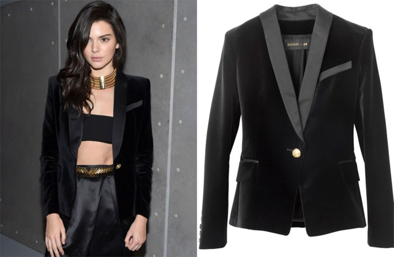 The_Garage_Starlets_Balmain_X_H&M_Giveaway_Blazer_Kendall_Jenner_Olivier_Rousteing_Gigi_Hadid_01