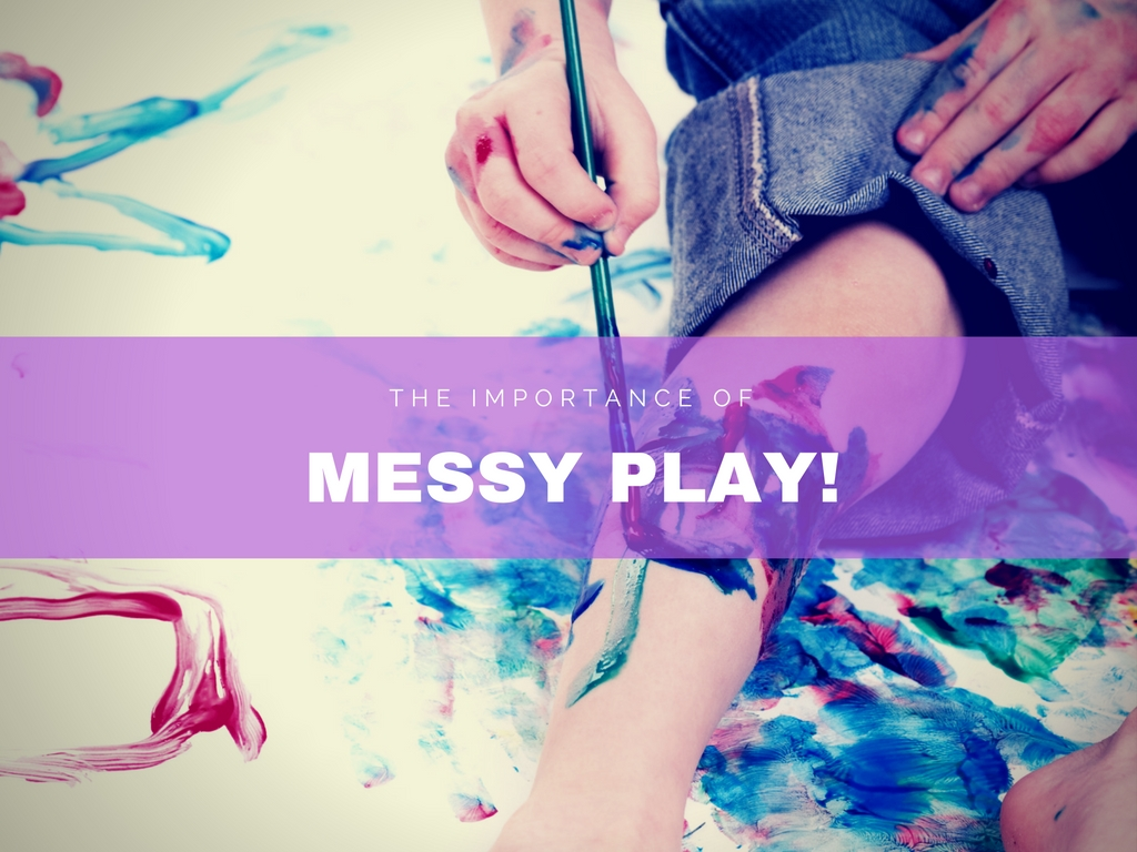 The Importance of Messy Play! | The Garden of Children Newport News Daycare