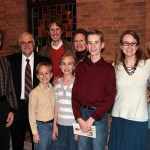 The Garms Family and Dr. Jeffrey Burkhart