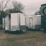 Huge blessing (and long story)! We were blessed to procure a new trailer for an incredible price, though the generosity of a Christian brother. (February, 2016)