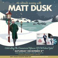 SEXY SWAG :: Win Tickets to Matt Dusk