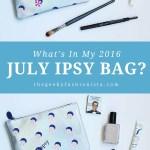 July Ipsy Glam Bag
