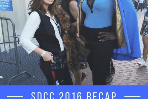 SDCC Friday Recap