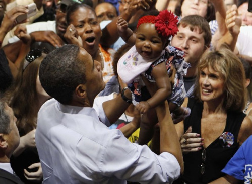 obama and baby