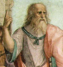 Detail of The School of Athens by Raphael - Pascal's Wager - chance - infinity