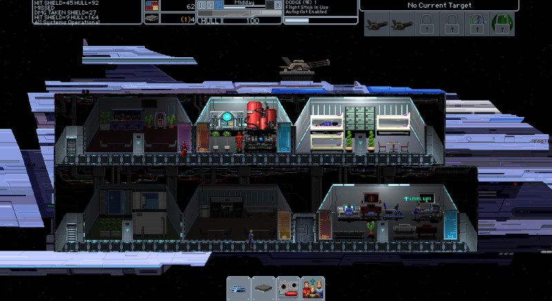 The Sentient screenshot with ship overview - Uncaged Studios - early access review