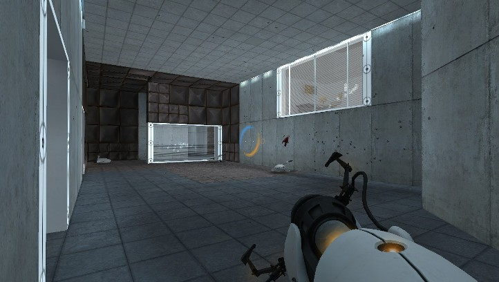 Portal screenshot with turret carnage - Why Portal is better than Portal 2 - Valve