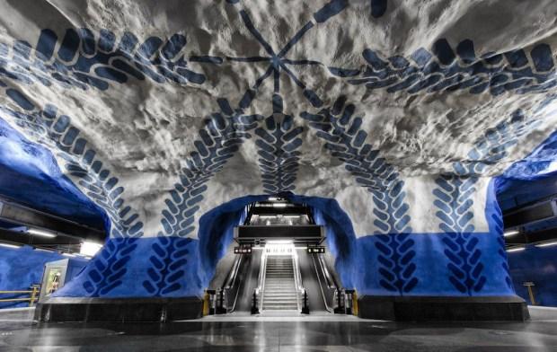 Stockholm Metrosu, İsveç