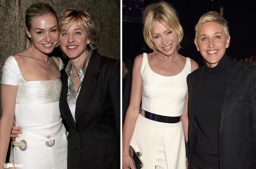 #10 Ellen Degeneres And Portia De Rossi - 12 Years Together