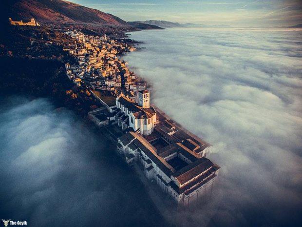 Basilica Of Saint Francis Of Assisi, Umbria, Italy