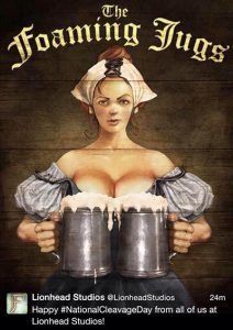 lionhead studios national cleavage day