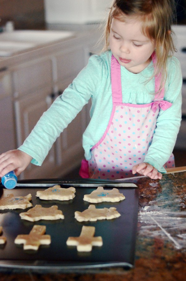 Roll-Out Butter Cookies: Kids in the Kitchen