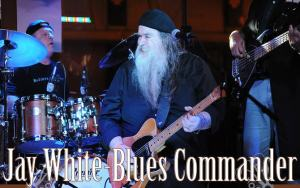 Jay White Blues Commander