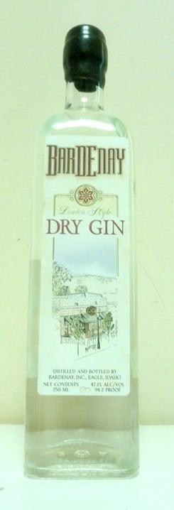 Bardenay Dry Gin