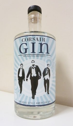 Corsair Gin Bottle