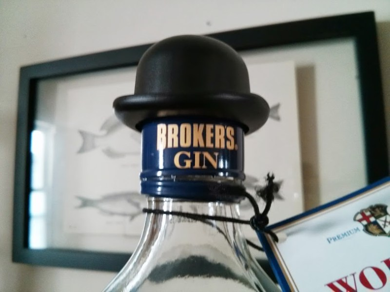 brokers gin hat