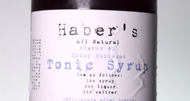 Haber's Spicy Hibiscus Tonic Syrup