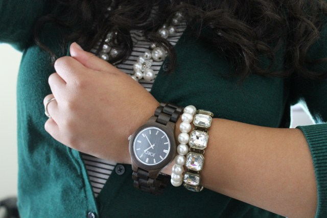 Favorite College Outfits - Featuring JORD Watches