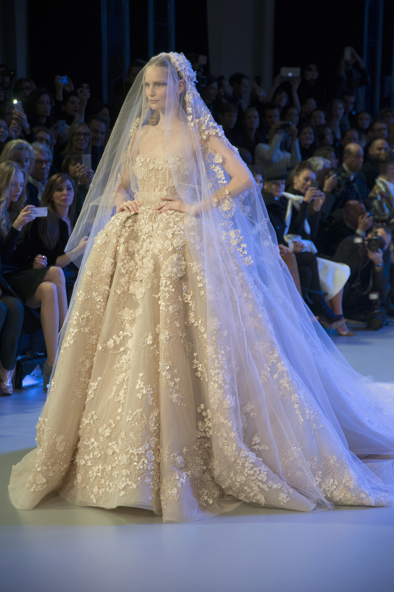 elie saab wedding dress The Promise of Spring Elie Saab Haute Couture Collection