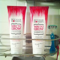 not your mother's way to grow shampoo + conditioner