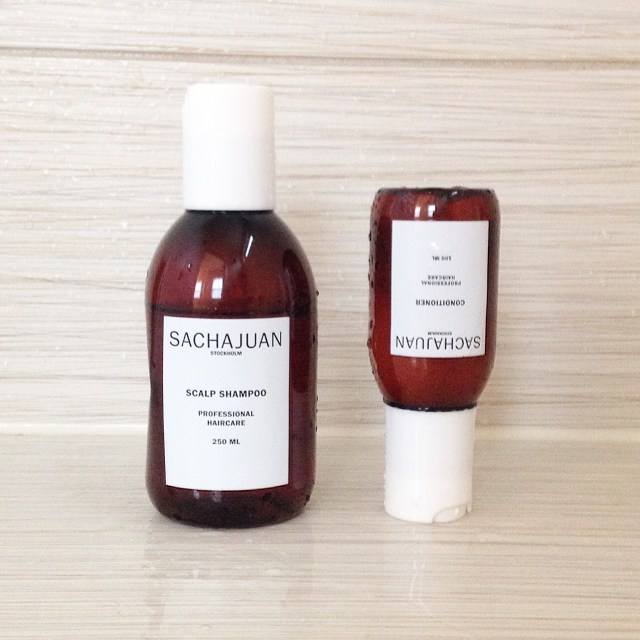 sachajuan scalp shampoo conditioner