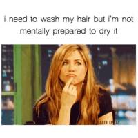 why i shampoo twice