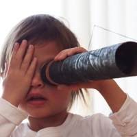 DIY Make Your Own Telescope, Kids Craft