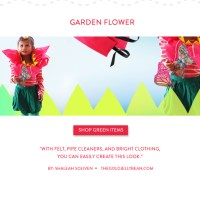 DIY Halloween Costume : Garden Flower