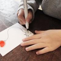 DIY Finger Print Valentines