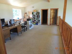 Loft - our homeschool room