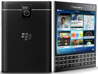 Image result for BlackBerry Passport Black