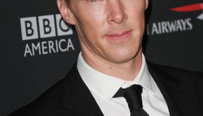Benedict Cumberbatch at 2013 BAFTA Awards