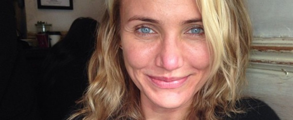 Cameron Diaz makeupless photo