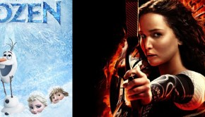 Frozen beats Catching Fire at box office