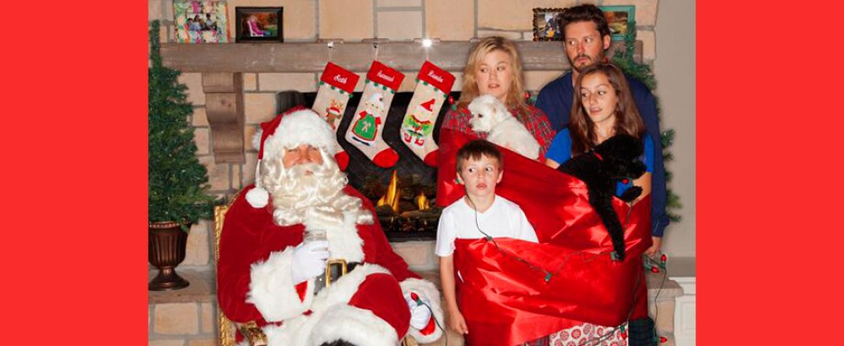 Kelly Clarkson and family Christmas card