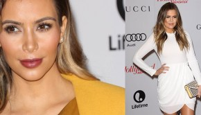Kim, Khloe and kris at The Hollywood Reporter's Women In Entertainment Breakfast Honoring Oprah Winfrey
