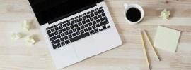 coffee, computer, plan, organize