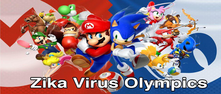 Mario Sonic Zika Virus