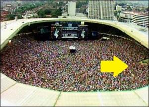 """Gordon Bryan at Live Aid"""