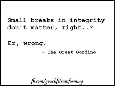 """Gordon Bryan"", ""integrity"","