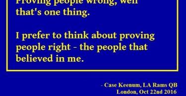 """""""Case Keenum"""""""