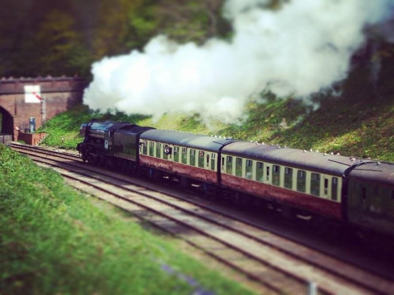 """Flying Scotsman Bluebell Railway"","