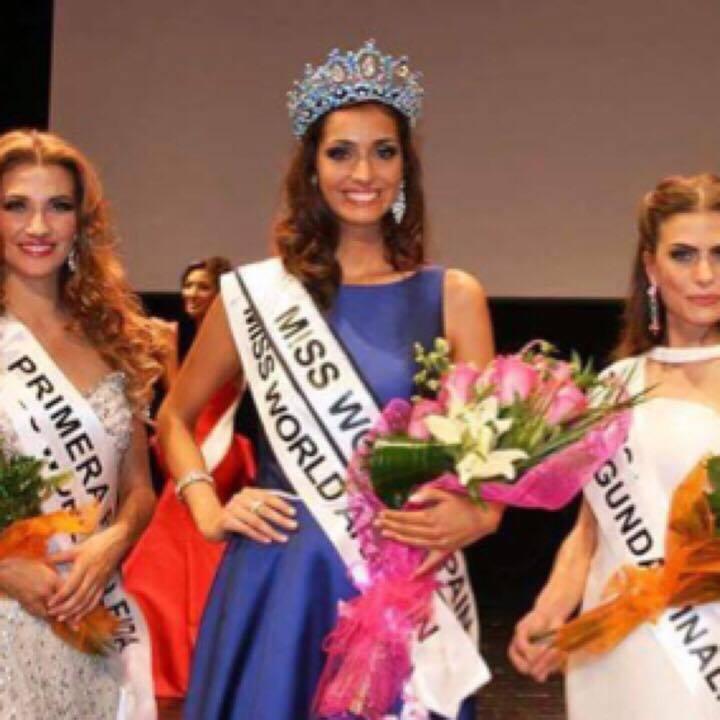 Raquel Tejedor Melendez won Miss World Spain 2016 will represent Spain at Miss World 2016