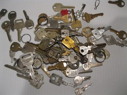 Keys, keys and more keys!
