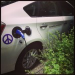 Prius Plugin by Green Diva Meg's herb garden