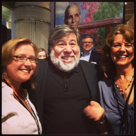 Green Diva Meg, Steve Wozniak & Diane MacEachern