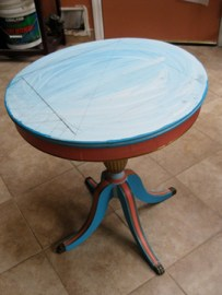 Re-Purposed Table Top